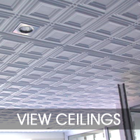 Pressed Ceiling Panels